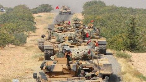 Οι Τούρκοι εισέβαλαν στη Συρία, σύμφωνα με πληροφορίες του πρακτορείου ειδήσεων Bloomberg