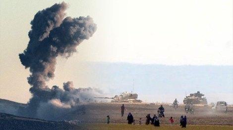 Η Τουρκία βομβαρδίζει τους Κούρδους στη βόρεια Συρία (BINTEO)