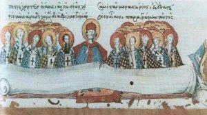 Εκκλησία   Πρωτ. Βασίλειος Γιαννακόπουλος - Κυριακή Δ΄ Λουκά - Των Αγίων Πατέρων της Ζ' Οικουμενικής Συνόδου