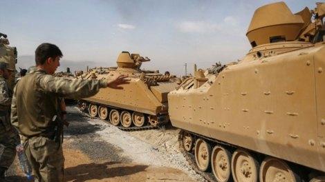 Οι Τούρκοι βομβάρδισαν αμερικανικές θέσεις στη Συρία