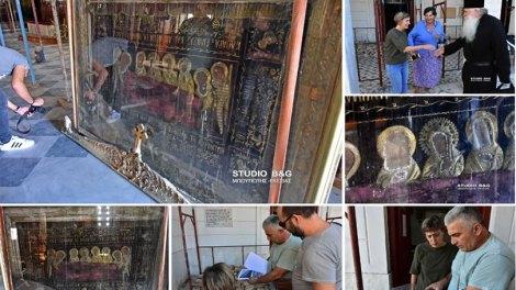 Ελλάδα | Ξεκίνησαν εργασίες συντήρησης στον Άγιο Νικόλαο Ναυπλίου