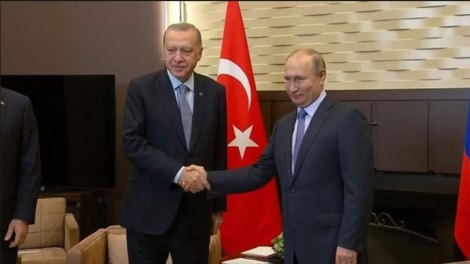Κόσμος | Συνάντηση Πούτιν - Ερντογάν : Πάνω από πέντε ώρες το παζάρι για τη Συρία