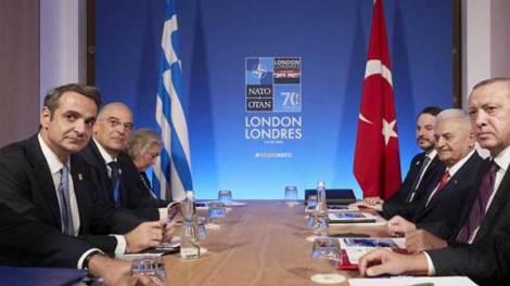 Ελλάδα | Ούτε ζεστό ούτε κρύο στη συνάντηση Μητσοτάκη-Ερντογάν