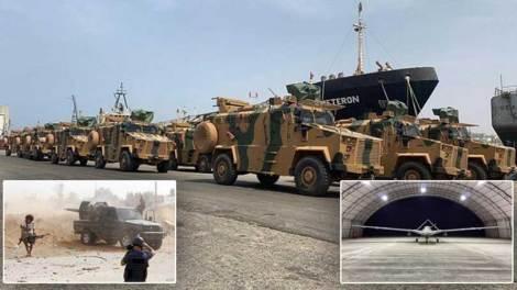 Κόσμος | Πώς οι Τούρκοι εξοπλίζουν την κυβέρνηση της Τρίπολης