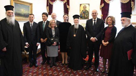 Ελλάδα | Στον Οικουμενικό Πατριάρχη ο Νίκος Δένδιας