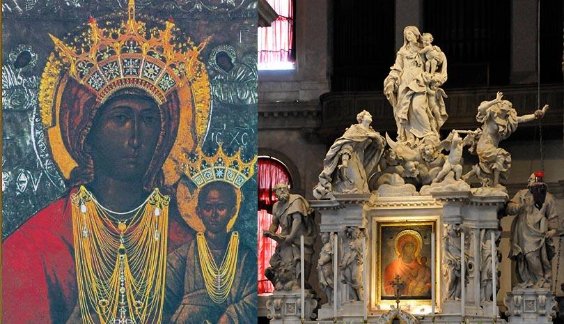 Εορτολόγιο   Σύναξη Υπεραγίας Θεοτόκου της Μεσοπαντητίσσης εν Κρήτη