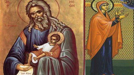 Εορτολόγιο | Δευτέρα 3 Φεβρουαρίου 2020: Δίκαιος Συμεών ο Θεοδόχος και Άννα η Προφήτιδα