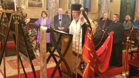 Ο Αρχιεπίσκοπος Κύπρου Χρυσόστομος χοροστάτησε στην Α' Στάση Χαιρετισμών στο Φανάρι