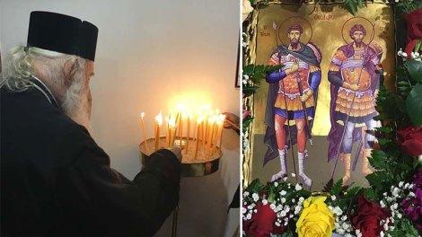Ο Αρχιεπίσκοπος στην Ι. Μονή των Αγίων Θεοδώρων