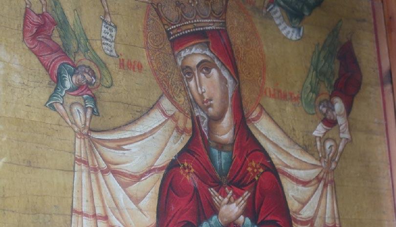Άνδρος: Την ευλογία και της Πρεσβείες της Παναγίας Θεοσκεπάστου επικαλέστηκε σήμερα ο πιστός λαός