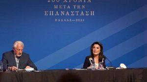 """Επιτροπή """"Ελλάδα 2021"""" - """"Ξύνοντας"""" τις δηλώσεις Γιάννας Αγγελοπούλου"""