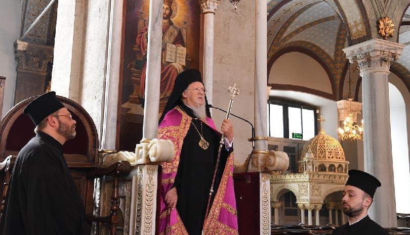 """Οικουμενικός Πατριάρχης Βαρθολομαίος: """"Ο Θεός να μας φυλάει διότι πάντοτε υπάρχουν οι επιβουλευόμενοι τη Ρωμηοσύνη"""