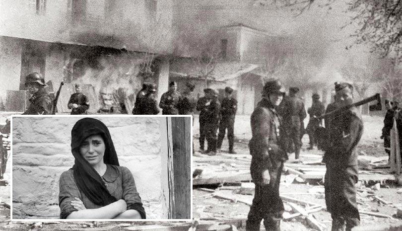 Σαν σήμερα 10 Ιουνίου 1944, η Σφαγή στο Δίστομο από τους Γερμανούς Ναζί (φωτό, βίντεο)