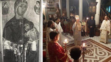 Η Σύναξη της Υπεραγίας Θεοτόκου της Γαλακτοτροφούσης στον Μητροπολιτικό Ιερό Ναό Αγίου Δημητρίου Χαλκίδος