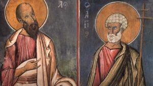 Μητροπολίτης Μόρφου Νεόφυτος: Οι πνευματοφόροι Άγιοι Απόστολοι