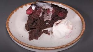Μοναδική Ανάποδη Σοκολατένια Κερασόπιτα - Χωρίς Μίξερ