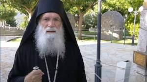 Ο Άγιος Σεραφείμ του Σάρωφ περπάτησε στο μοναστήρι του Τρικόρφου Φωκίδος