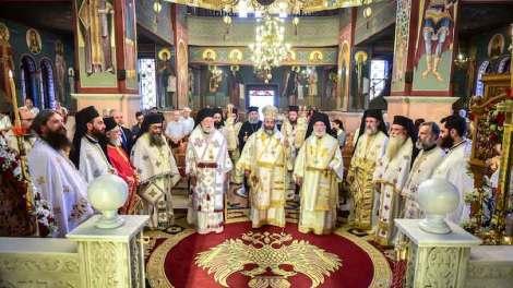 Ο Λαγκαδάς γιόρτασε την πολιούχο του Αγία Παρασκευή