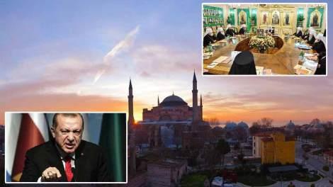 Τζαμί η Αγία Σοφία - Ιστορικό έγκλημα Ερντογάν - Δηλώσεις από το Πατριαρχείο Μόσχας & ΗΠΑ