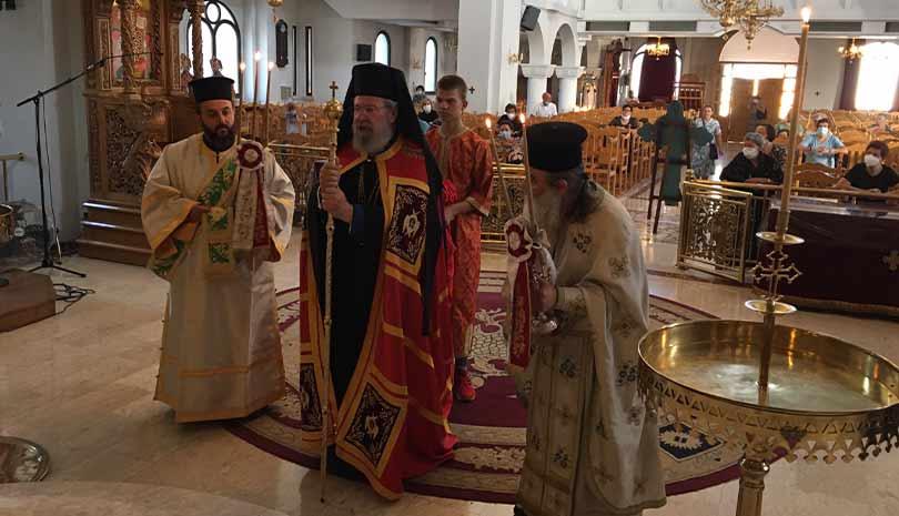 Αρχιεπίσκοπος Κύπρου Χρυσόστομος : «Να φοράμε τη μάσκα και θα είναι όλα καλά»