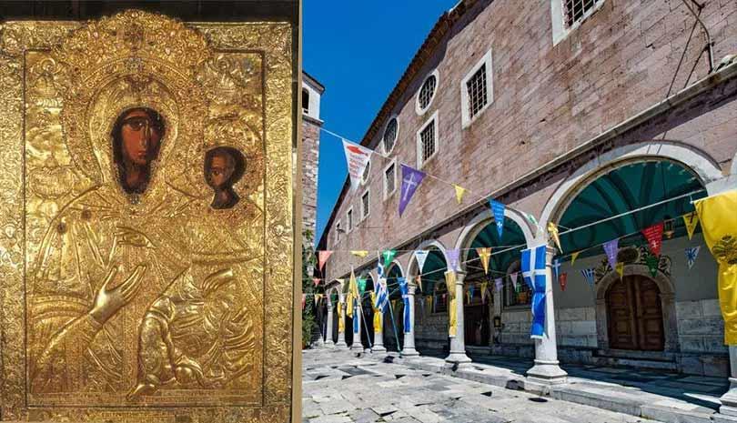 Λέσβος : Η Παναγία Αγία Σιών Αγιάσου