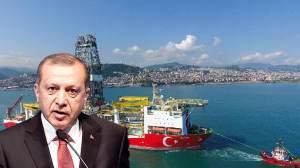 Μεγάλο κοίτασμα φυσικού αερίου στη Μαύρη θάλασσα ανακοίνωσε ο Ερντογάν