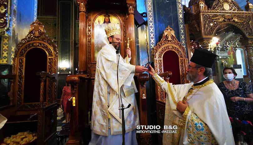 Ο Μητροπολίτης Ελβετίας Μάξιμος στο Καθεδρικό ναό του Αγίου Πέτρου στο Άργος