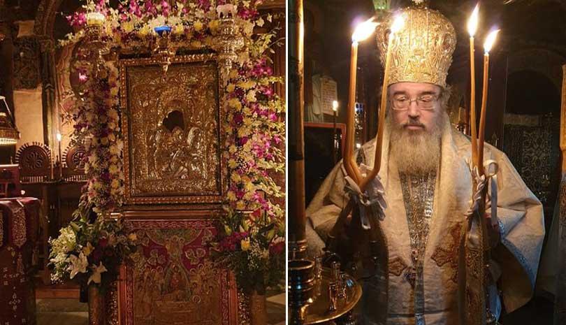 Άγιον Όρος : Η Κοίμηση της Θεοτόκου στο Πρωτάτο
