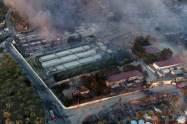 Που στρέφονται οι έρευνες της ΕΥΠ για την πυρκαγιά στη Μόρια