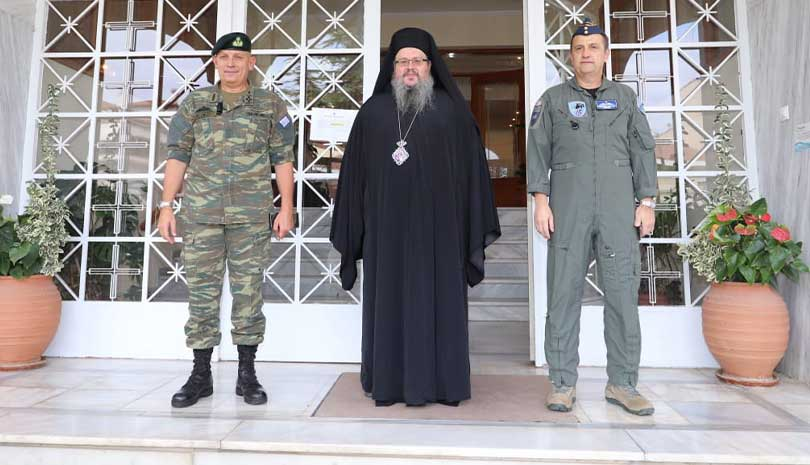 Αρχηγός ΓΕΕΘΑ Κ. Φλώρος: «Οι Έλληνες να είναι ήσυχοι - Οι Ένοπλες Δυνάμεις παρέχουν ασφάλεια»