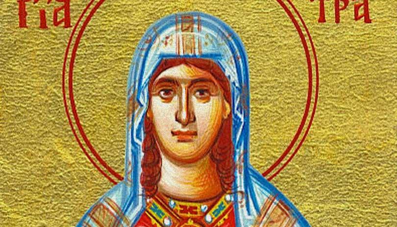 Η Οσία Κλεοπάτρα γιορτάζει σήμερα 19 Οκτωβρίου
