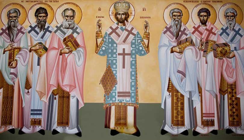 Κυριακή 18 Οκτωβρίου 2020: Πάντων των Αγίων Κρητών Επισκόπων των συμμετασχόντων εν ταις αγίαις και σεπταίς Οικουμενικαίς ΣυνόδοιςΚυριακή 18 Οκτωβρίου 2020: Πάντων των Αγίων Κρητών Επισκόπων των συμμετασχόντων εν ταις αγίαις και σεπταίς Οικουμενικαίς Συνόδοις
