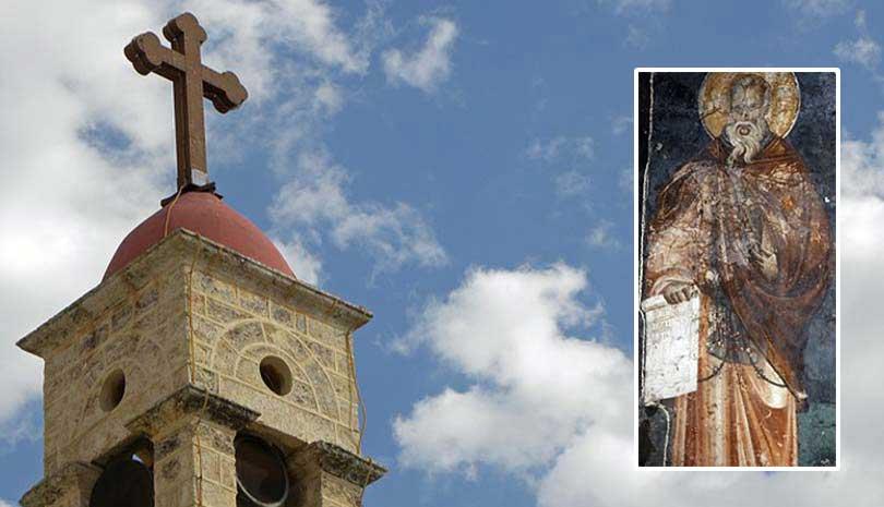 O Άγιος Σενώχ της Τουρώνης ο Ιαματικός γιορτάζει σήμερα 24 Οκτωβρίου