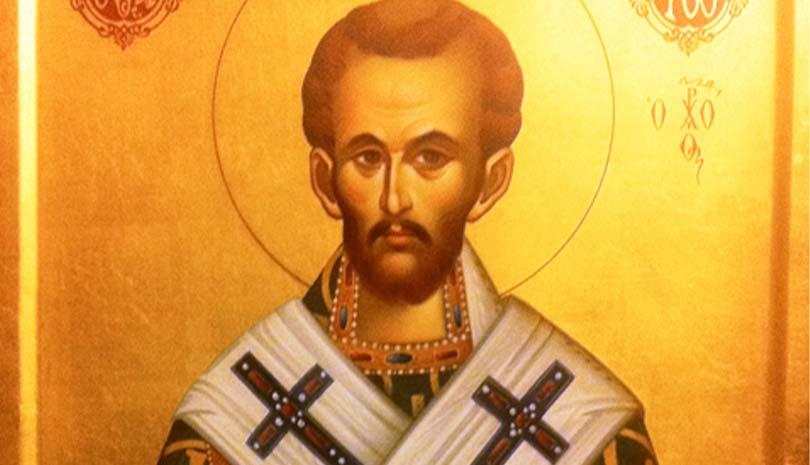 Σήμερα γιορτάζει ο Άγιος Ιωάννης ο Χρυσόστομος Αρχιεπίσκοπος Κωνσταντινούπολης