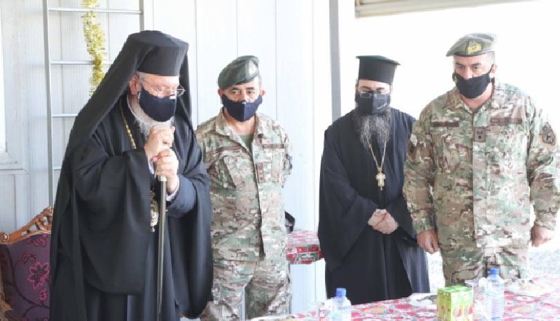 Αρχιεπίσκοπος Κύπρου προς στρατιώτες