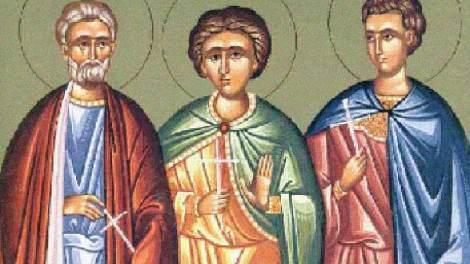 Σήμερα γιορτάζουν οι Άγιοι Μηνάς ο Καλλικέλαδος, Ερμογένης και Εύγραφος