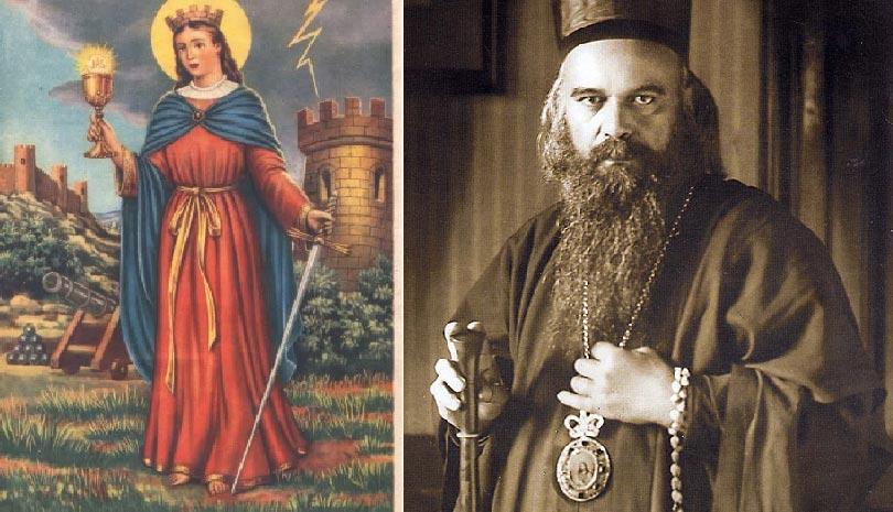 St. Nikolai Velimirovich: Saint Barbara the Great Martyr