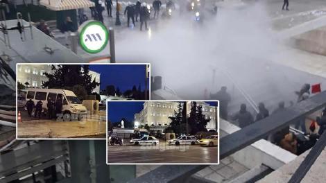 Σύνταγμα: Μικρής έντασης επεισόδια με αφορμή την επικείμενη επέτειο της δολοφονίας του Αλέξανδρου Γρηγορόπουλου