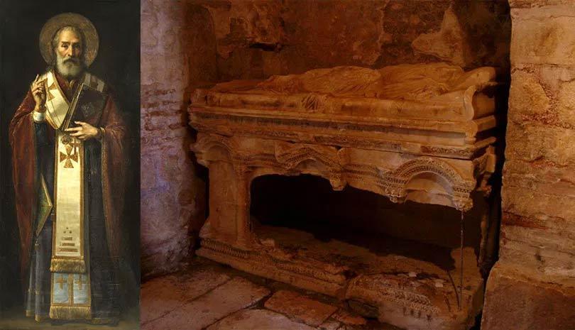 Τα Ιερά Λείψανα του Αγίου Νικολάου αποδείχθηκε επιστημονικά πως μυροβλύζουν   Ορθοδοξία   Αγίου Νικολάου   Αγίου Νικολάου   Ορθοδοξία   Ορθοδοξία   online