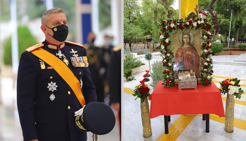 Το Πυροβολικό εόρτασε την προστάτιδα του Αγία Βαρβάρα | Εθνικά θέματα | Αγία Βαρβάρα | Αγία Βαρβάρα | Εθνικά θέματα | orthodoxia.online