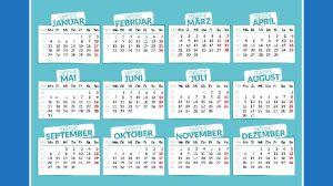Αργίες 2021  Tριήμερα και αργίες