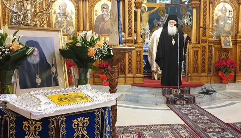 Μητροπολίτης Δημητριάδος Ιγνάτιος: «Ο Χριστόδουλος εξέφραζε την καρδιά του Γένους» – Οι Βολιώτες δεν ξεχνούν τον Χριστόδουλο