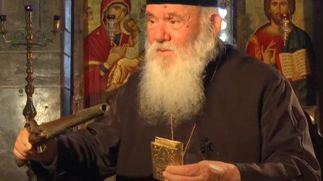 Ο Αρχιεπίσκοπος Αθηνών και πάσης Ελλάδος Ιερώνυμος Β΄, μιλά για τη συμβολή που είχε η Εκκλησία στην Ελληνική Επανάσταση του 1821.
