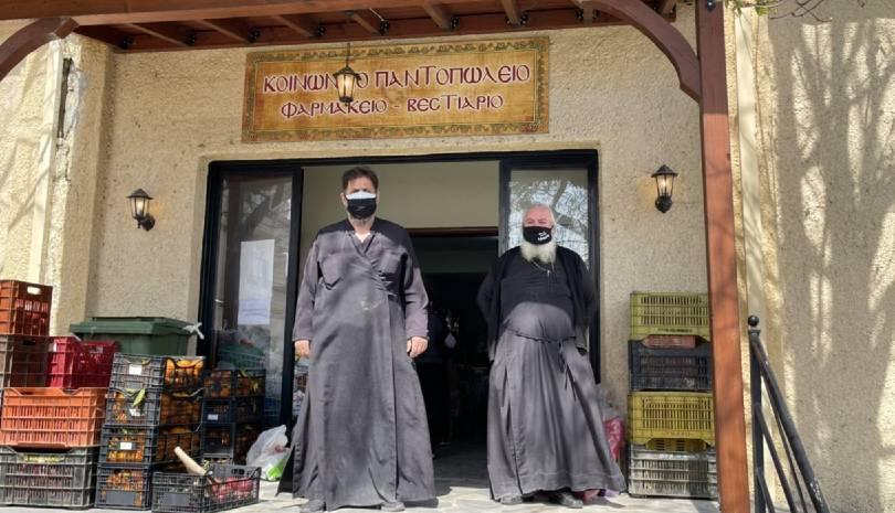 Μητρόπολη Γόρτυνος | Ανθρωπιστική βοήθεια στους σεισμοπαθείς της Ελασσόνας