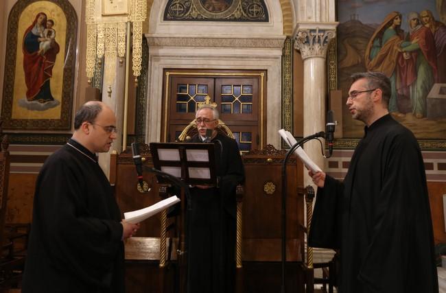 Οι Α΄ Χαιρετσιμοί στον μητροπολιτικό ναό Αθηνών
