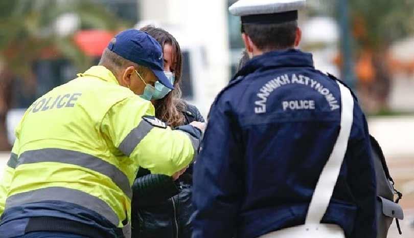 Συλλήψεις και πρόστιμα για παραβιάσεις των μέτρων κατά της διασποράς του κορωνοϊού