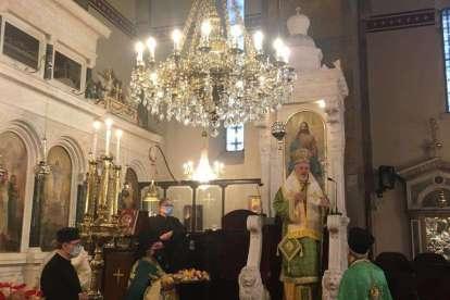Εορτή της Σταυροπροσκυνήσεως στην Κωνσταντινούπολη