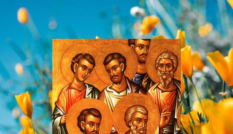 Εορτολόγιο 8 Απριλίου Άγιοι Άγαβος, Ρούφος, Φλέγων και Ασύγκριτος από τους 70 Αποστόλους