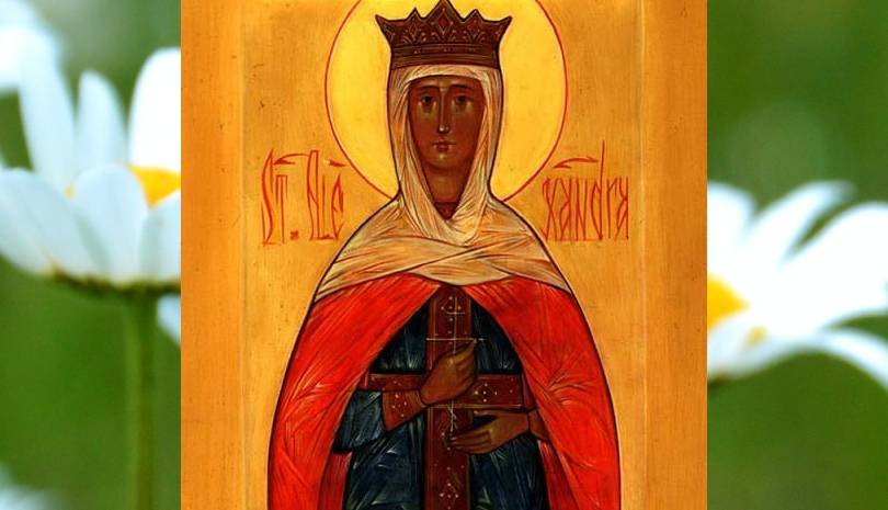 Η βασίλισσα που μαρτύρησε για τον Χριστό