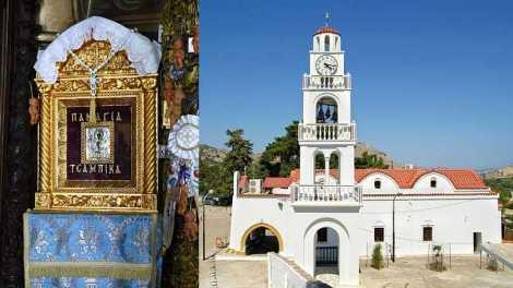 Η εικόνα της Παναγίας που εξαφανιζόταν από την Κύπρο και πήγαινε στη Ρόδο